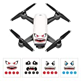 DJI Spark Stickers Set Facial Expression Skins Decals Drone 3M Emoji 4 Styles