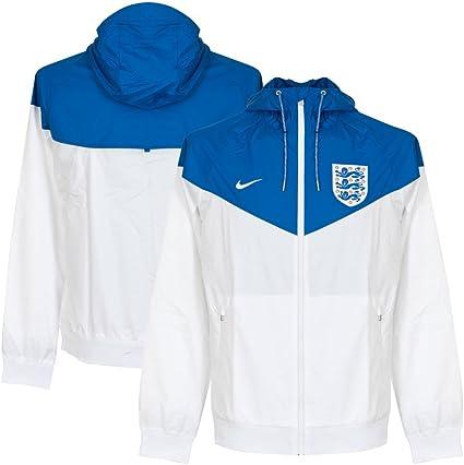 2016 2017 England Nike Authentic Windrunner Jacket (White