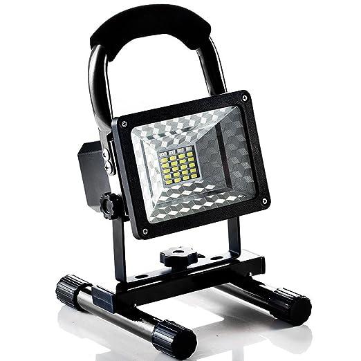 Foco LED Proyector, Lampara Camping 15W, Foco LED Reflector para ...