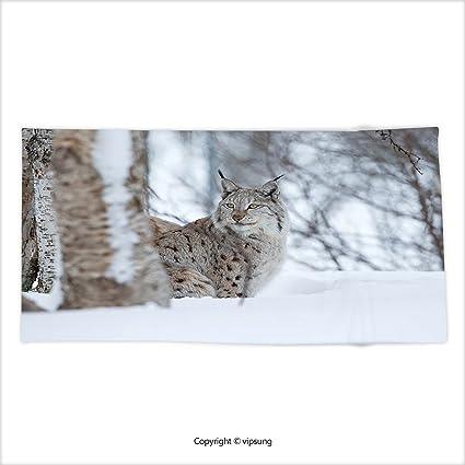 vipsung Ultra de microfibra suave toalla de mano Animal Sketchy hechos a mano de imagen de