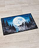 Cheap The Lakeside Collection Wolf Pack Rug
