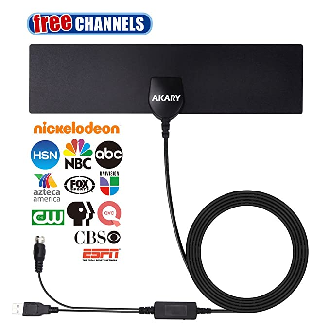 Review AKARY TV Antenna, Digital