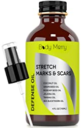 Body Merry Stretch Marks And Scars Defense Oil