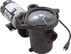 Waterway Plastics PH1100 Hi-Flo 1 hp Above Ground Pool Pump and Trap