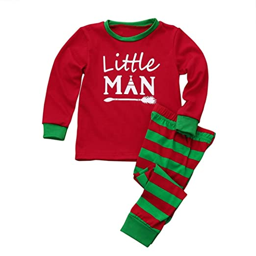 Vibola Toddler Boy Printed Blouse Tops+Santa Pants Striped Christmas Outfits  Clothes Set (Size - Amazon.com: Vibola® Toddler Boy Printed Blouse Tops+Santa Pants