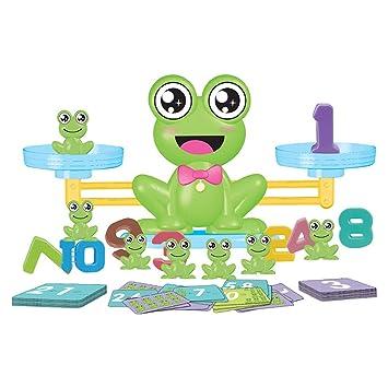CUEYU Montesori - Báscula de Juegos de Mesa para niños: Amazon.es ...