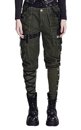 4ca674984055 Punk Rave Damen Hose  Amazon.de  Bekleidung