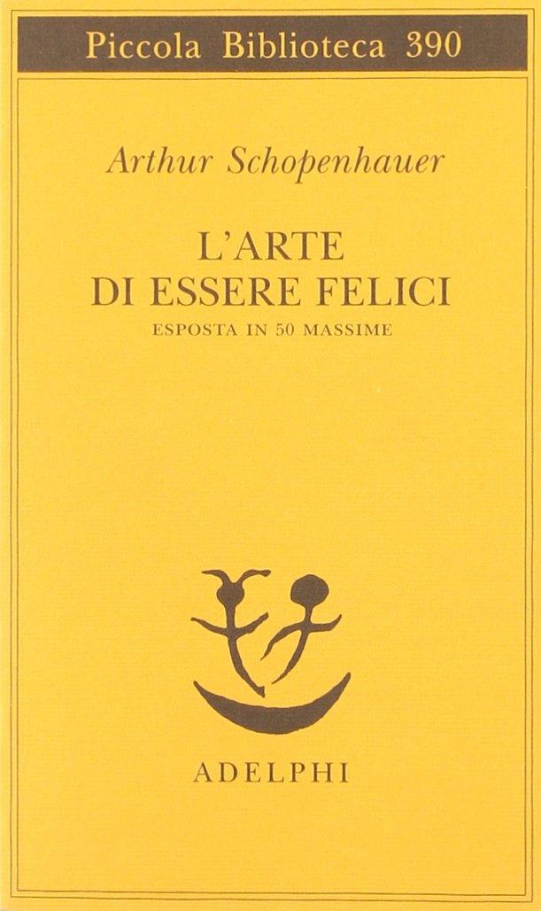 Copertina Libro L'arte di essere felici