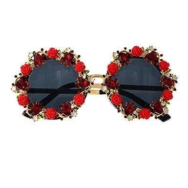 DBA Gafas de sol con marco de metal, cristales de colores ...