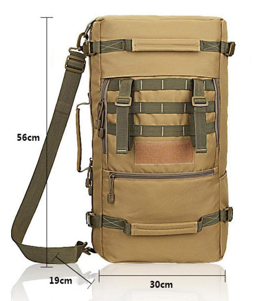 FHGJ Tactical Military Backpack Waterproof Bag Outdoors Hiking Rucksack