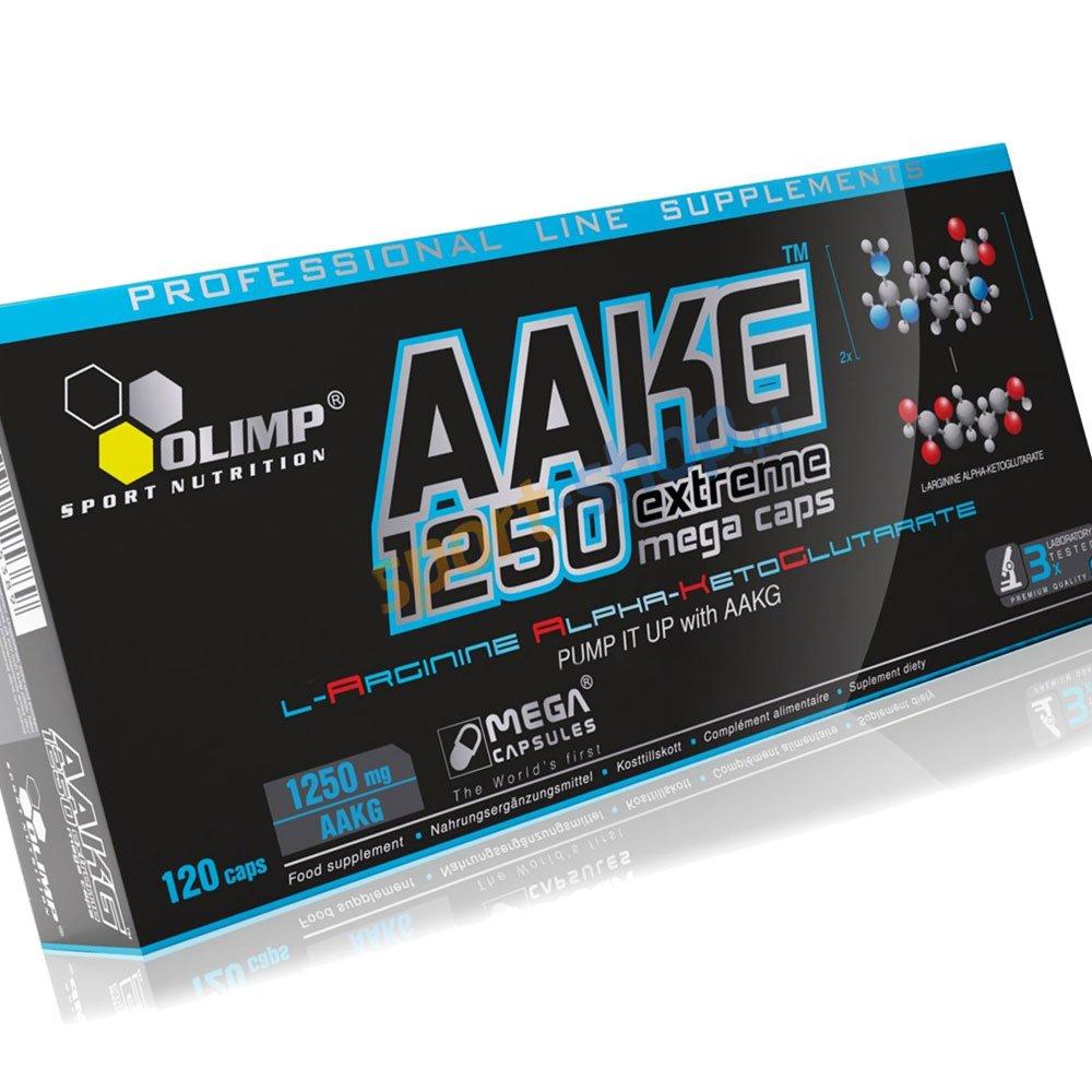 2bd2b2e2a58 Amazon.com: AAKG, Extreme, Mega Caps - 120 caps - OLIMP: Health & Personal  Care
