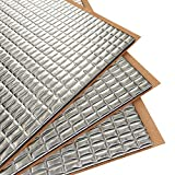 Siless 80 mil 36 sqft Car Sound Deadening mat - Butyl Automotive Sound Deadener - Noise Insulation and Vibration Dampening Material (80 mil 36 sqft): more info