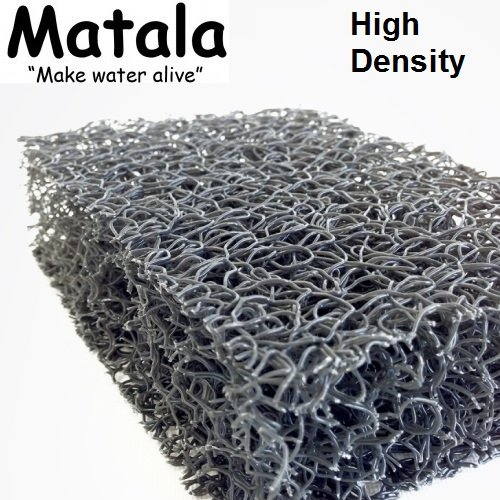 Matala Sheet (1 Sheet Matala Pond Grey Filter Mat Koi Media Pad 39