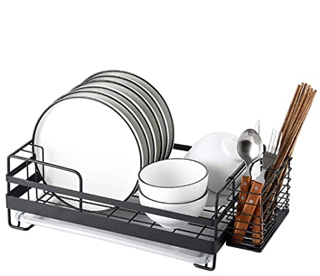 Amazon.com: Janron - Escurreplatos de acero inoxidable con ...
