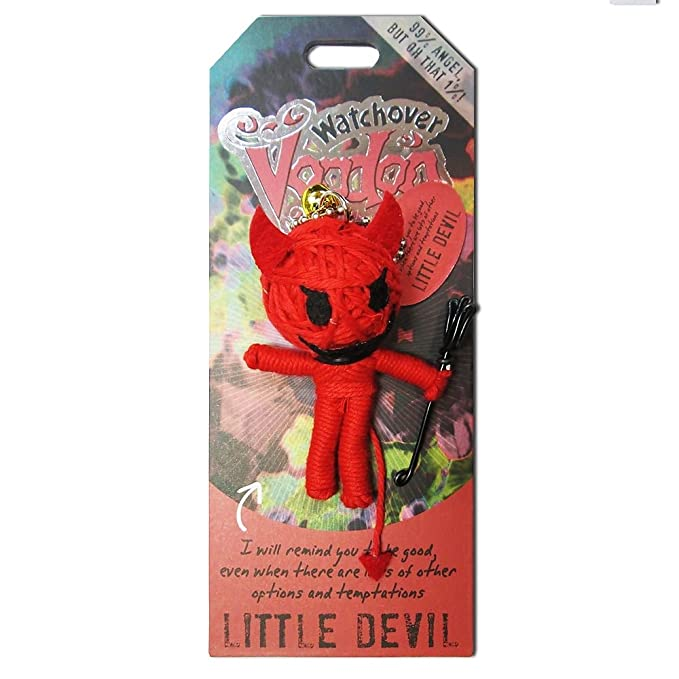 Amazon.com: Watchover Voodoo Doll New Little Devil: Toys & Games