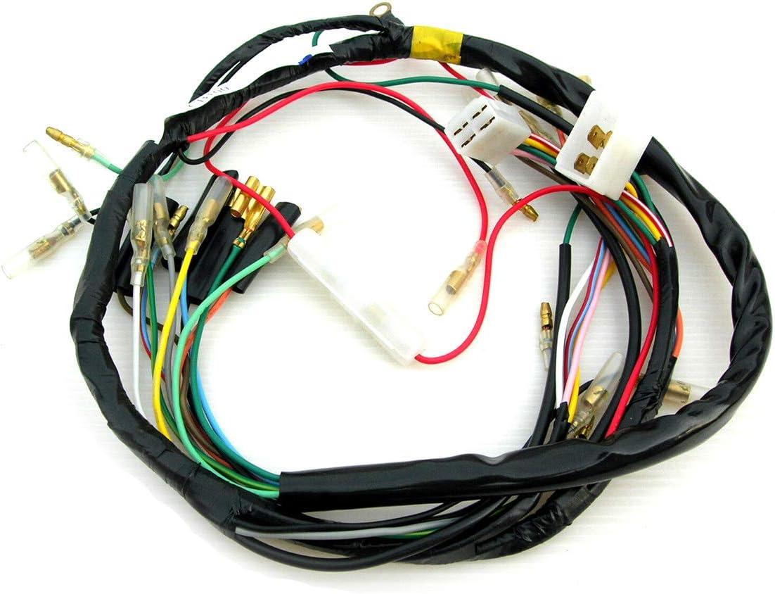 Amazon.com: isbridge Replacement Fit For Main Wire Wiring Harness Honda  CB100 CL100 CB125S CL125S CB CL 100 125: AutomotiveAmazon.com