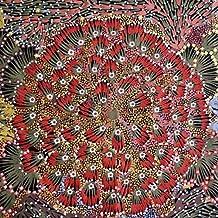 Australian Aboriginal fabric, Bush Banana by Donna Abbots