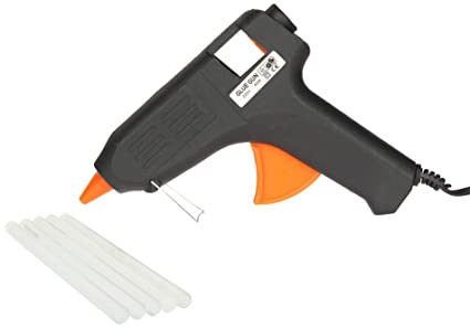 Spartan 40 Watt Glue Gun, PT40 with 5 Pieces Spartan Glue Stick of 8 Inch Size