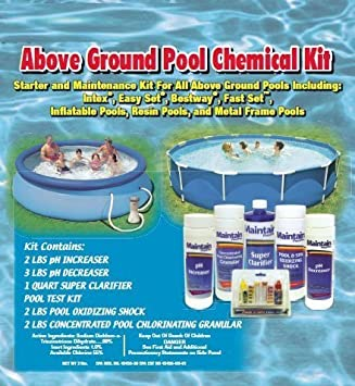 Above Ground Pool Chemical Kit For Intex, Bestway and All