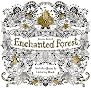 Enchanted Forest: An Inky Quest and Coloring book (Activity Books, Mindfulness and Meditation, Illustrated Flo