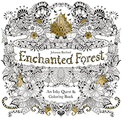 - Enchanted Forest: An Inky Quest And Coloring Book (Activity Books,  Mindfulness And Meditation, Illustrated Floral Prints): Basford, Johanna:  6063887956574: Amazon.com: Books