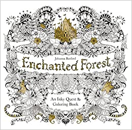 Enchanted Forest An Inky Quest Coloring Book Johanna Basford 6063887956574 Books
