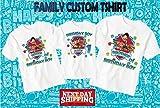 Paw Patrol birthday shirt, Paw Patrol custom birthday tshirt, Paw Patrol party shirts, Paw Patrol family shirts, Paw Patrol matching shirts D10