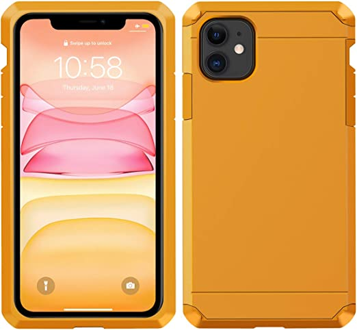 2X Glass Screen Protector Included CellEver iPhone XR Case - Black Clear Full Body Heavy Duty Protective Case Anti-Slip Full Body Transparent Cover Fits Apple iPhone XR 6.1 inch