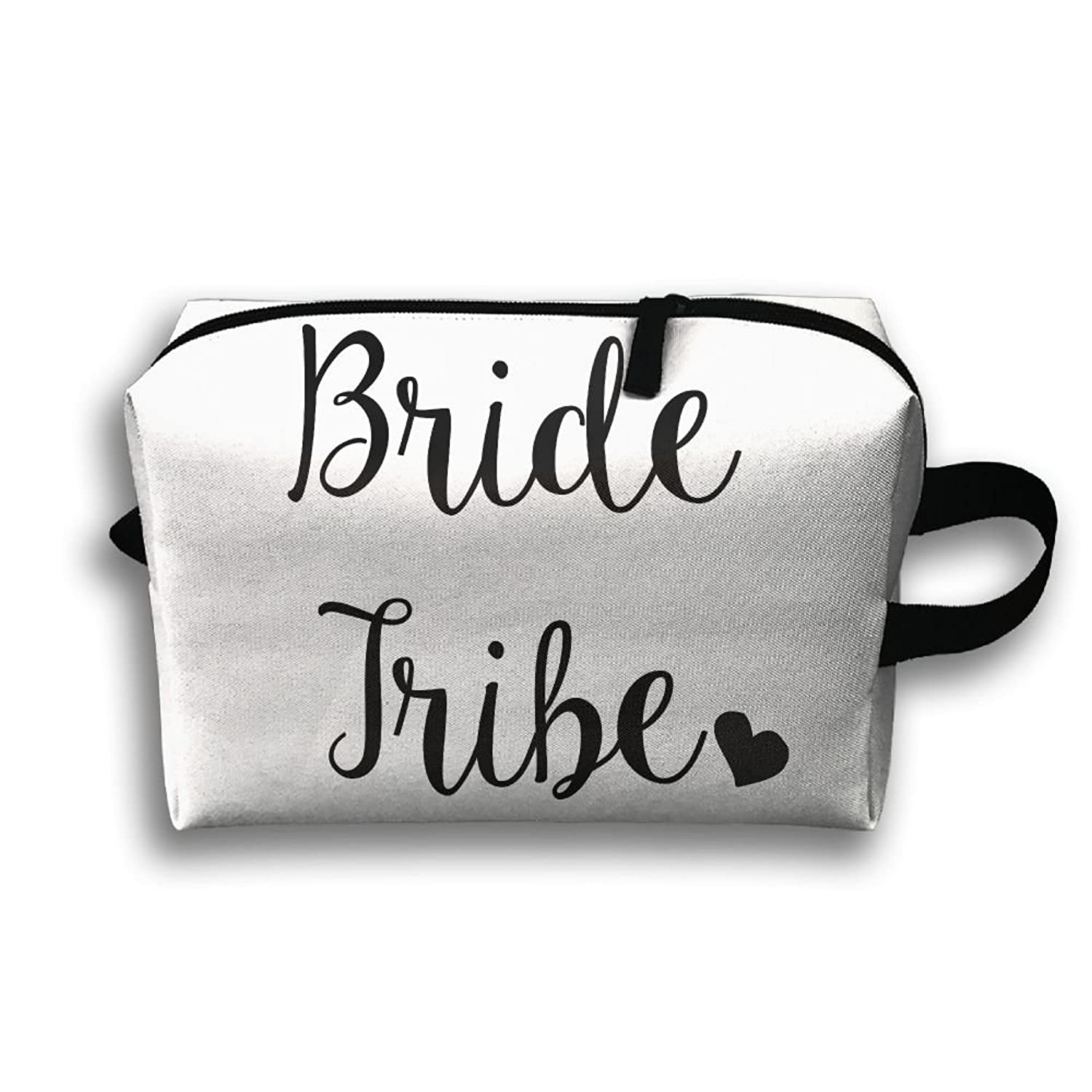 Storage Bag Travel Pouch Bride Tribe Purse Organizer Power Bank Data Wire Cosmetic Stationery Holder