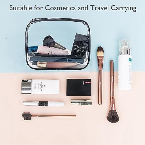 Amazon.com: APREUTY TSA - Juego de bolsas de maquillaje (5 ...