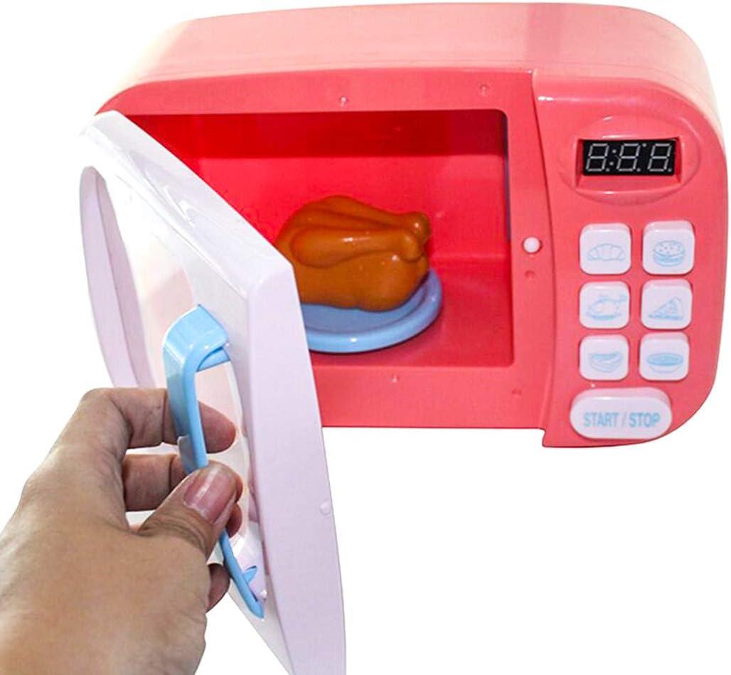 Sunbary microondas Juguete luz Sonido microondas Juguete niños ...