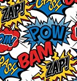 Superhero Gift Wrapping Paper Roll 24'' X 15'