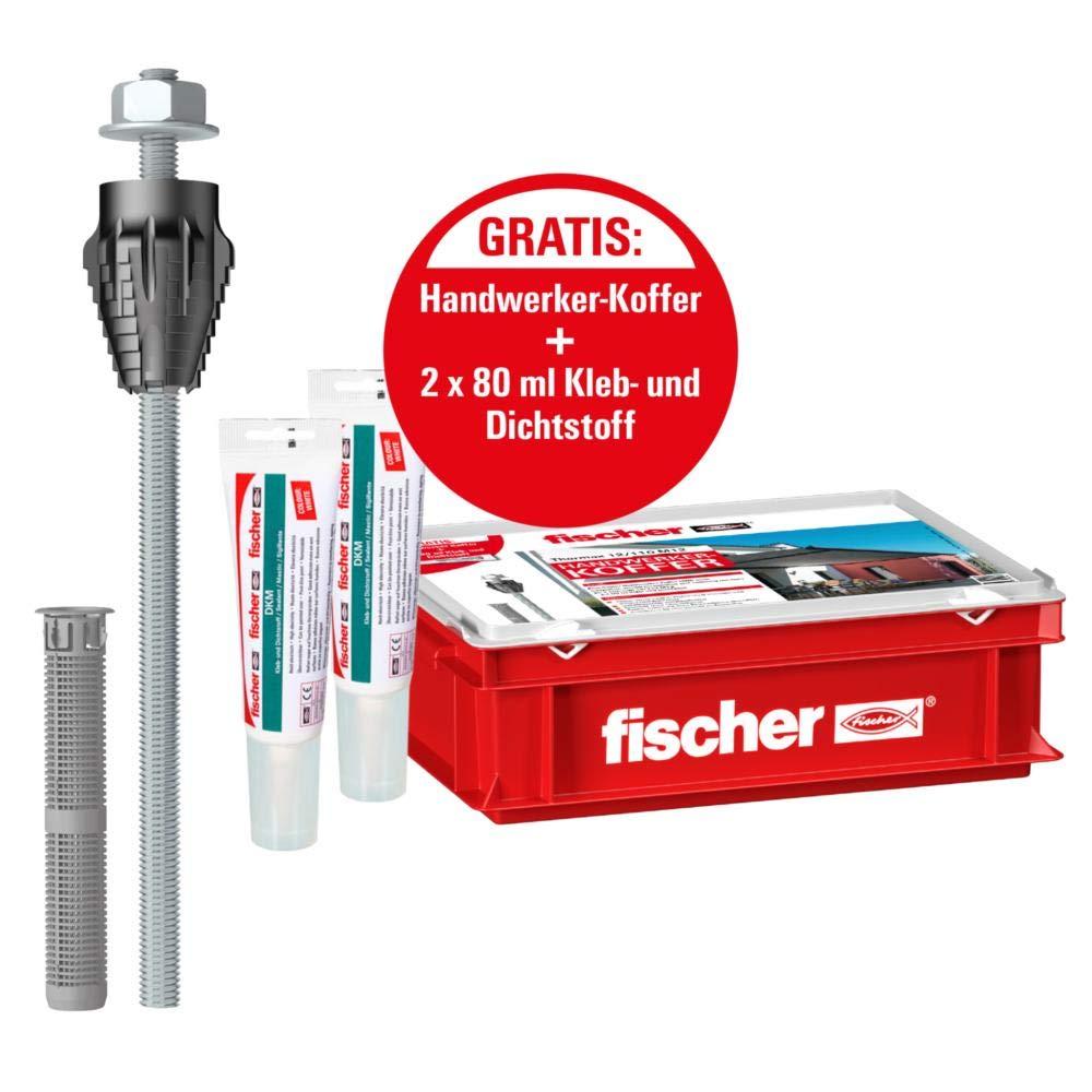 Fischer 045680 Thermax 8//80 M6 B Universald/übel mit Rand