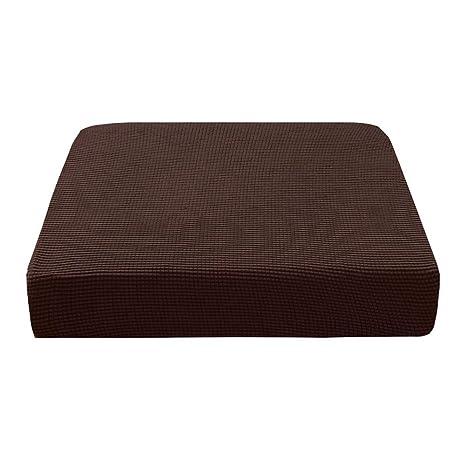 Prosperveil - Fundas elásticas para Asientos de sofá de poliéster y Elastano, Fundas de cojín para sillas de futón, Fundas de cojín para sofá y Fundas ...