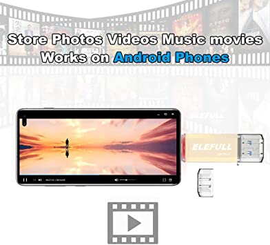 USB Type C Flash Drive 256GB 128GB 64GB 32GB for Android Smart Phones Computer Laptop USB-C 3.0 High Speed Copay Photos Videos Music etc. 128GB