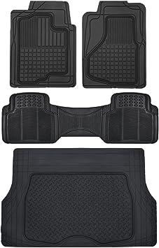 BLACK Fits CHEVROLET BLAZER SUV SEMI CUSTOM CARGO MAT