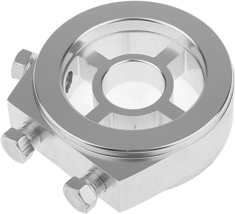M20x1,5 Presi/ón Del Filtro De Aceite Del Coche De Calibre M/ás Fresco Sensor Adaptador De La Placa S/ándwich