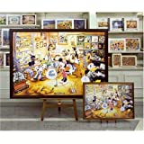 ジグソーパネル ディズニー専用パネル 4000ピース 木製4000Pブラウン (102×146cm)