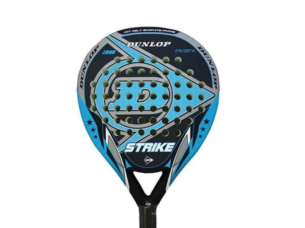 Dunlop Strike Mate - Pala de pádel, Color Negro/Azul / Gris, 38 mm: Amazon.es: Deportes y aire libre