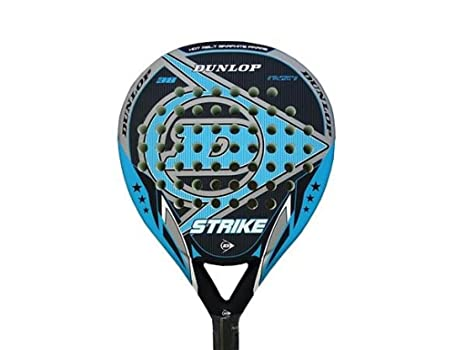 DUNLOP Strike Mate - Pala de pádel, Color Negro/Azul/Gris, 38 mm
