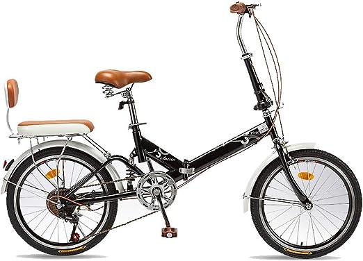 TXTC Crucero De Bicicleta Mujer, Bici Plegable, For Mujer De ...
