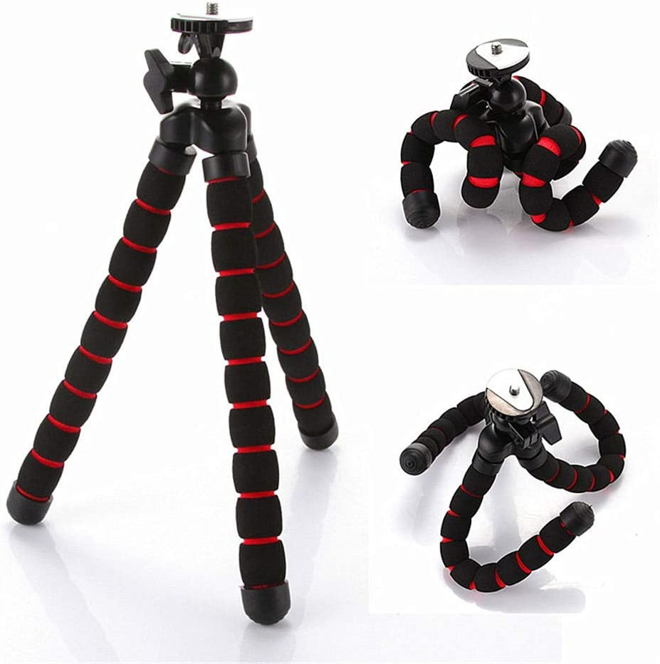 سايز OO - حامل ثلاثي مرن لكاميرات هيرو جورلابود نوع مونوبود مرن ثلاثي الأرجل حامل ثلاثي القوائم للكاميرات الرقمية T35