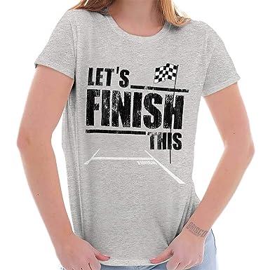 86d5494b Amazon.com: Classic Teaze Let's Finish This Racing Cars Sports Fan ...