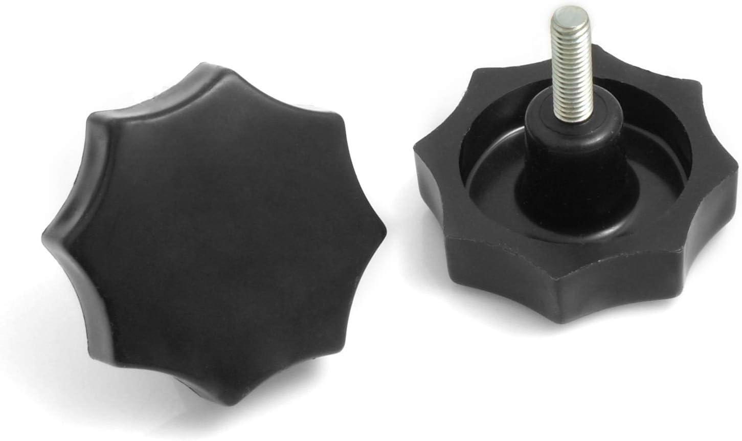 Design61/Juego de 4/con mango de estrella mano Cilindro de M6/x 20/mm /Ø50