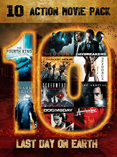 Last Day On Earth - The Fourth Kind / The Colony / The Darkest Hour / Screamers: The Hunting / Doomsday / Dark Skies / Daybreakers / Pandorum / The Arrival / Apocalypse Now Redux (Daybreakers Dvd)