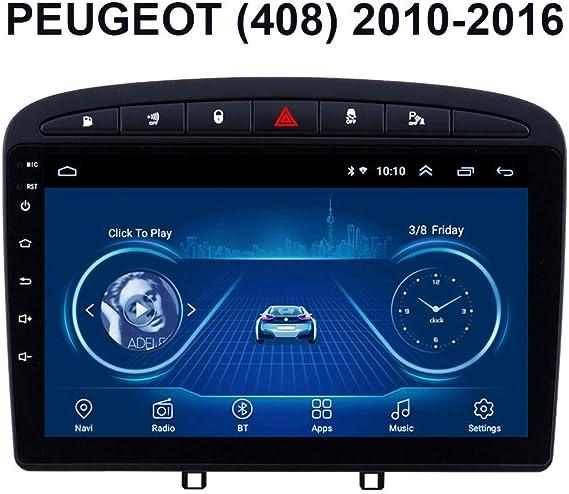 Car Stereo Audio Digital navegación GPS Radio de Coche de 9 ...