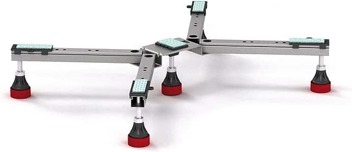 Mepa base soporte para patas de acero + acrílico tipo BW-5 SF 150 ...