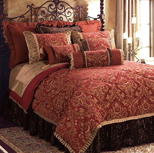 Jennifer Taylor 10 Pcs Comforter Set,Oversize King, BACARA