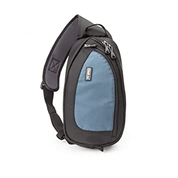 Think Tank Turn Style 5 Camera Bag (Blue) Camera Cases at amazon