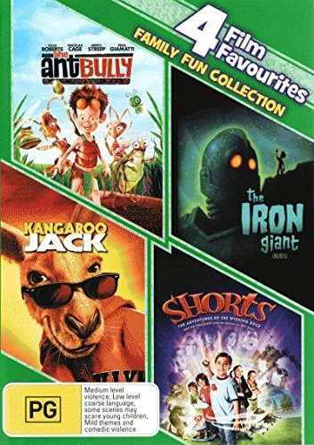 Kangaroo Jack / Shorts / The Ant Bully / The Iron Giant DVD